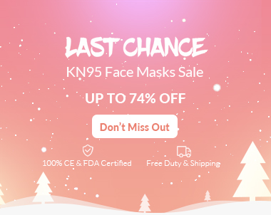 KN95 Masks Big Deals: Up To 74% Off