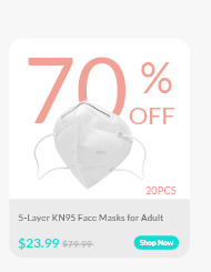 5-Layer KN95 Face Masks for Adult