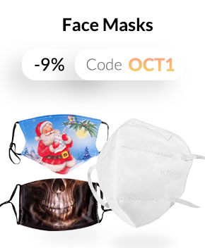 Face Mask: 9% Off Coupon Sale