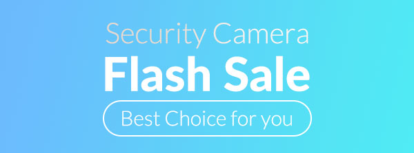 Security Camera Flash Sale