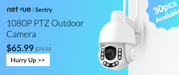 Netvue Sentry 1080P PTZ Outdoor Camera