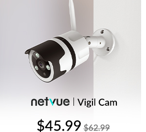 Netvue Vigil Cam Outdoor Security Camera