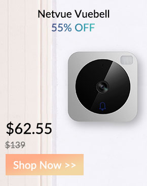 Netvue Vuebell Video Doorbell - $62.55