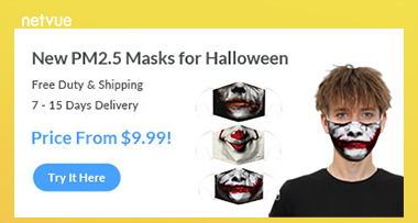 New PM2.5 Masks for Halloween